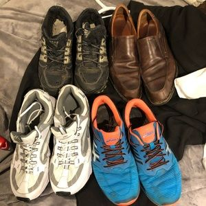BUY1 get1 freelshoes ADIDAS,SKETCHERS, size13..$16